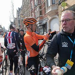31-03-2019: Wielrennen: Kattekoers: Ieper<br /> Enzo Leinse, Hidde van Veenendaal