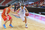 Danzica - Polonia 04 Agosto 2012 - TORNEO INTERNAZIONALE SOPOT CUP - Italia Montenegro<br /> Nella Foto : ANDREA CINCIARINI<br /> Foto Ciamillo