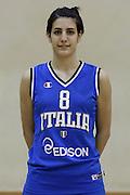 DESCRIZIONE : Roma Acqua Acetosa ritiro collegiale amichevole Nazionale Italia Donne<br /> GIOCATORE : Giovanna Pertile<br /> CATEGORIA : ritratto<br /> SQUADRA : Nazionale Italia femminile donne FIP<br /> EVENTO : amichevole Italia A Italia B<br /> GARA : <br /> DATA : 17/01/2012<br /> SPORT : Pallacanestro<br /> AUTORE : Agenzia Ciamillo-Castoria/ElioCastoria<br /> Galleria : Fip Nazionali 2011 <br /> Fotonotizia : Roma Acqua Acetosa ritiro collegiale amichevole Nazionale Italia Donne