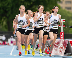 adidas Grand Prix professional track & field meet: high school girls Dream Mile,