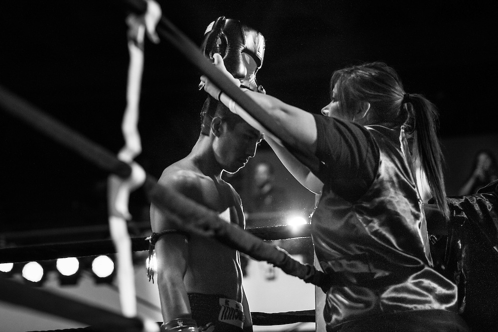Jeremy Dang trains to become a professional Muay Thai fighter. He decided late in life that he wanted to pursue his passion, and is determined to become a professional fighter.