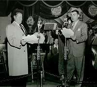 1944 Jack Oakie & Ken Murray at the Hollywood Canteen