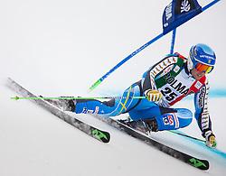 22.12.2013, Gran Risa, Alta Badia, ITA, FIS Ski Weltcup, Alta Badia, Riesenslalom, Herren, 1. Durchgang, im Bild Matts Olsson (SWE) // Matts Olsson of Sweden in action during mens Giant Slalom of the Alta Badia FIS Ski Alpine World Cup at the Gran Risa Course in Alta Badia, Italy on 2012/12/22. EXPA Pictures © 2013, PhotoCredit: EXPA/ Johann Groder