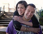 Pre Wedding Photographs of Samantha & David at Wollaton Hall, Nottingham