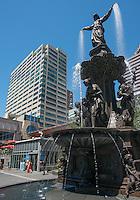 Fountain Square in Downtown Cincinnati