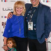 Richard Raymond and his mum attend 'Souls of Totality' film at Raindance Film Festival 2018, London, UK. 30 September 2018.