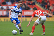 Callum Camps during the EFL Sky Bet League 1 match between Charlton Athletic and Rochdale at The Valley, London, England on 4 May 2019.
