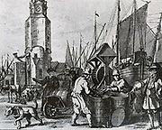 the herring fishery in Holland.  Packing and trade increased continuously in the 17th century
