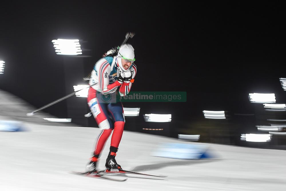February 11, 2018 - Pyeongchang, Gangwon, South Korea - Emil Hegle Svendsen ofNorway at Mens 10 kilometre sprint Biathlon at olympics at Alpensia biathlon stadium, Pyeongchang, South Korea on February 11, 2018. (Credit Image: © Ulrik Pedersen/NurPhoto via ZUMA Press)