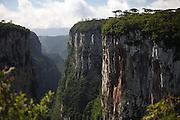 Cambara do Sul_RS, Brasil.<br /> <br /> Imagens do Canion Fortaleza no Parque Nacional da Serra Geral em Cambara do Sul, Rio Grande do Sul.<br /> <br /> Fortaleza Canyon in Serra Geral National Park in Cambara do Sul, Rio Grande do Sul.<br /> <br /> Foto: JOAO MARCOS ROSA / NITRO