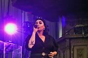 Nederland, Nijmegen, 16-7-2019 Roxanne Hazes speelt live in de Stevenskerk tijdens de zomerfeesten, vierdaagsefeesten . Foto: Flip Franssen