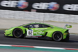 September 30, 2018 - Barcelona, Catalonia, Spain - Circuit de Barcelona-Catalunya, Montmelo, Spain - Blancpain GT Endurance Series; 82 PERERA Frank, (fra), GRT Grasser Racing Team Lamborghini Huracan GT3, seen during the race. (Credit Image: © Eric Alonso/SOPA Images via ZUMA Wire)