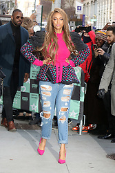 November 29 2018, New York City<br /> <br /> Model and TV personality Tyra Banks made an appearance at Build Series on November 29 2018 in New York City