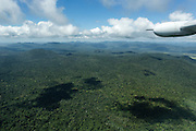 Rainforest view from Guyana airways small Cessna. The guyana forest is one of the better preserved area in Amazonia.