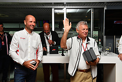 September 1, 2018 - Monza, Italie - Ercole Colombo, Photographer at F1 Hall of Fame at Formula One World Championship, Rd14, Italian Grand Prix, Qualifying, Monza, Italy, Saturday 1 September 2018. (Credit Image: © Panoramic via ZUMA Press)