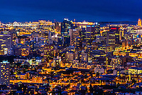 Central Business DIstrict and Victoria & Alfred Waterfront, Cape Town, South Africa.
