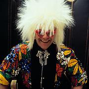 Elton John sells costumes London  1986