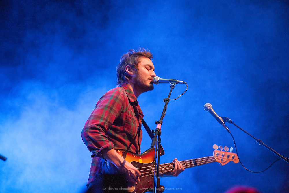 Steven McKellar of Civil Twilight performs on March 24, 2014 at the Pikes Peak Center in Colorado Springs, Colorado