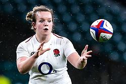 Lark Davies of England Women - Mandatory by-line: Robbie Stephenson/JMP - 16/03/2019 - RUGBY - Twickenham Stadium - London, England - England Women v Scotland Women - Women's Six Nations