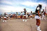 Parade in Gibara, Holguin, Cuba.