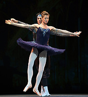 Ekaterina Kondaurova and Timur Askerov at the rehearsal for the BALLET ICONS GALA 2020 evening of world class ballet celebrating the Russian Ballet School