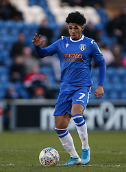 Courtney Senior of Colchester United on the ball - Mandatory by-line: Arron Gent/JMP - 08/02/2020 - FOOTBALL - JobServe Community Stadium - Colchester, England - Colchester United v Plymouth Argyle - Sky Bet League Two