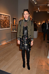 Ozlem Onal at the 2017 PAD Collector's Preview, Berkeley Square, London, England. 02 October 2017.