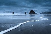 Haystock Rock on Cannon Beach in Oregon
