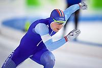 BILDET INNGÅR IKKE I NOEN FASTAVTALER. ALL NEDLASTING BLIR FAKTURERT.<br /> <br /> Skøyter<br /> Foto: imago/Digitalsport<br /> NORWAY ONLY<br /> <br /> Eisschnelllauf Heerenveen 11.11.2017 Saison 2017 / 2018 1500 m Männer Herren Sverre Lunde Pedersen (NOR) *** Speed \u200b\u200bskating Heerenveen 11 11 2017 Season 2017 2018 1500 m Men Men Sverre Lunde Pedersen NOR