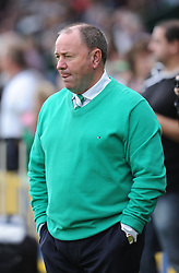 Yeovil Town Manager, Gary Johnson - Photo mandatory by-line: Alex James/JMP - Tel: Mobile: 07966 386802 21/09/2013 - SPORT - FOOTBALL - Huish Park - Yeovil - Yeovil Town V Queens Park Rangers - Sky Bet Championship
