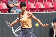 Natalia Vikhlyantseva during the 2019 Swedish Open in Båstad on July 11, 2019. Photo Credit: Katja Boll/EVENTMEDIA.