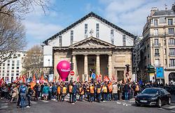 March 27, 2019 - Paris, France - Ambiance  - Manifestation pour la fonction publique (Credit Image: © Panoramic via ZUMA Press)
