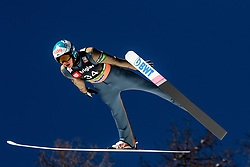 Eetu Nousiainen (FIN) during the Trial Round of the Ski Flying Hill Individual Competition at Day 1 of FIS Ski Jumping World Cup Final 2019, on March 21, 2019 in Planica, Slovenia. Photo by Matic Ritonja / Sportida
