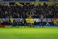 Burton's Jamie Ward (12) scores for Burton and celebrates making the score 2-0 to Burton Albion during the EFL Sky Bet Championship match between Burton Albion and Birmingham City at the Pirelli Stadium, Burton upon Trent, England on 21 October 2016. Photo by Richard Holmes.
