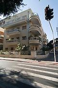 Israel, Tel Aviv, Bauhaus Architecture in Rothschild Boulevard No 81