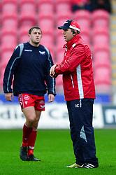 Scarlets coach - Mandatory by-line: Dougie Allward/JMP - 02/11/2019 - RUGBY - Parc y Scarlets - Llanelli, Wales - Scarlets v Toyota Cheetahs - Guinness PRO14