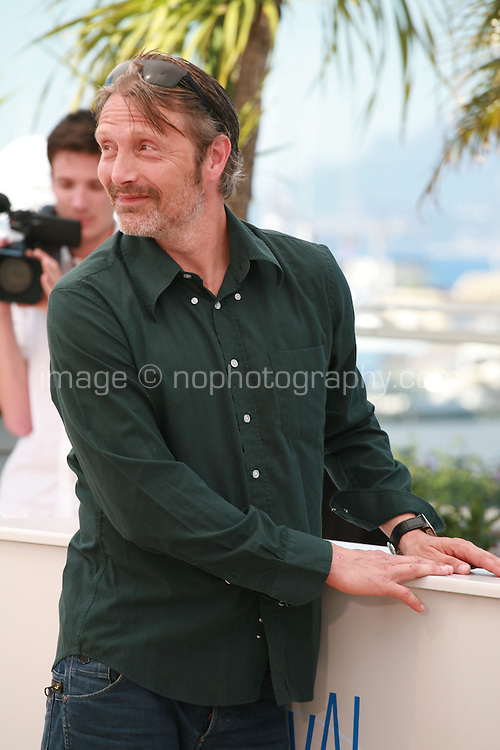 Mads Mikkelsen at the photo call for the film The Salvation at the 67th Cannes Film Festival, Saturday 17th May 2014, Cannes, France.