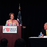 DCCC Chairman Steve Israel and speaker Nancy Pelosi hos a Political Update Luncheon during the 2012 Democratic Convention
