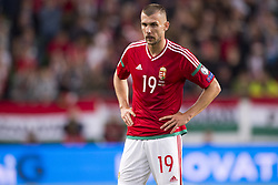 September 3, 2017 - Budapest, Hungary - Tamas Priskin of Hungary dejected during the FIFA World Cup 2018 Qualifying Round match between Hungary and Portugal at Groupama Arena in Budapest, Hungary on September 3, 2017  (Credit Image: © Andrew Surma/NurPhoto via ZUMA Press)