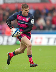 Gloucester Rugby's Jason Woodward