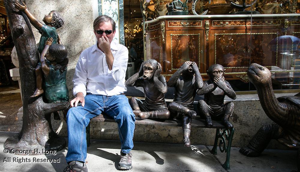 George Long smells no evil; Chinatown, San Francisco