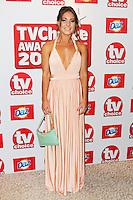 Louise Thompson, TV Choice Awards, The Dorchester Hotel, London UK, 09 September 2013, Photo by Richard Goldschmidt