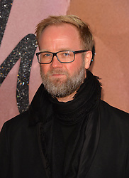 Nic Galway attending The Fashion Awards 2016 at the Royal Albert Hall, London.