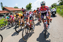 Diego ULISSI of UAE TEAM EMIRATES during 1st Stage of 27th Tour of Slovenia 2021 cycling race between Ptuj and Rogaska Slatina (151,5 km), on June 9, 2021 in Slovenia. Photo by Vid Ponikvar / Sportida