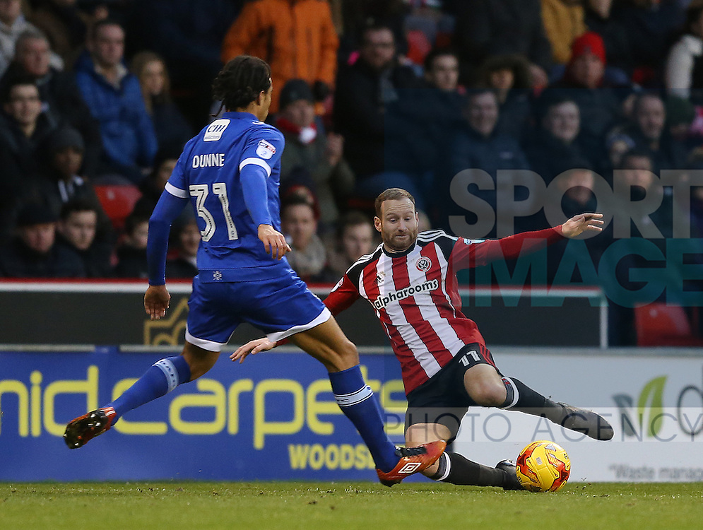 Matt Done of Sheffield Utd during the English League One match at Bramall Lane Stadium, Sheffield. Picture date: December 26th, 2016. Pic Simon Bellis/Sportimage