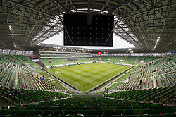 September 3, 2017 - Budapest, Hungary - General view on Groupama Arena during the FIFA World Cup 2018 Qualifying Round match between Hungary and Portugal at Groupama Arena in Budapest, Hungary on September 3, 2017  (Credit Image: © Andrew Surma/NurPhoto via ZUMA Press)