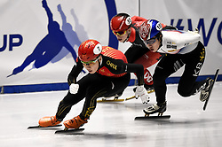 February 9, 2019 - Torino, Italia - Foto LaPresse/Nicolò Campo .9/02/2019 Torino (Italia) .Sport.ISU World Cup Short Track Torino - Men 500 meters Semifinals .Nella foto: Ziwei Ren..Photo LaPresse/Nicolò Campo .February 9, 2019 Turin (Italy) .Sport.ISU World Cup Short Track Turin - Men 500 meters Semifinals.In the picture: Ziwei Ren (Credit Image: © Nicolò Campo/Lapresse via ZUMA Press)