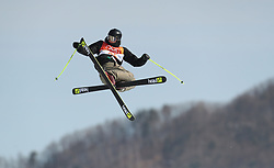 Mexico's Robert Franco during run 2 in the Men's Ski Slopestyle Skiing at the Pheonix Snow Park during day nine of the PyeongChang 2018 Winter Olympic Games in South Korea.