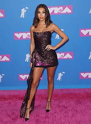 August 21, 2018 - New York City, New York, USA - 8/20/18.Chantel Jeffries at the 2018 MTV Video Music Awards at Radio City Music Hall in New York City. (Credit Image: © Starmax/Newscom via ZUMA Press)