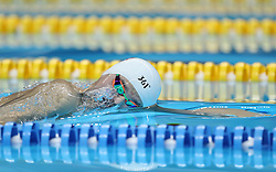 JAKARTA, Aug. 24, 2018  Sun Yang of China competes during men's 1500m freestyle final of swimming at the 18th Asian Games in Jakarta, Indonesia, Aug. 24, 2018. (Credit Image: © Fei Maohua/Xinhua via ZUMA Wire)